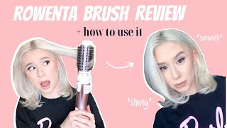 Rowenta Brush Activ Volume & Shine Review | How to use it