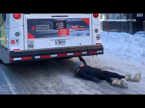 Montreal woman defends self after bus surfing video goes viral