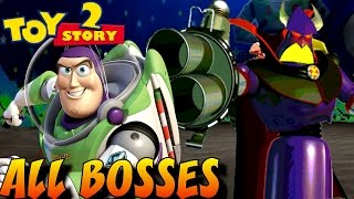 Toy Story 2 - All Bosses (No Damage)