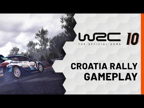 Gameplay Rallye de Croatie de WRC 10