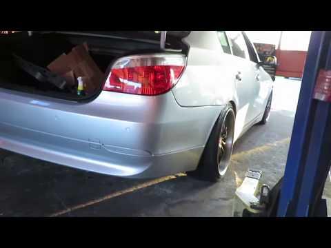 BMW 545i gets VIP Wheels
