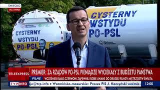 """""""Cysterny wstydu PO-PSL"""". Nowy etap kampanii PiS"""