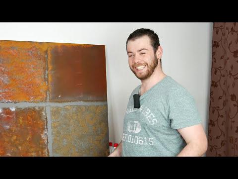 Rostfarbe mit Echt-Rost Effekt zum Streichen [4K]