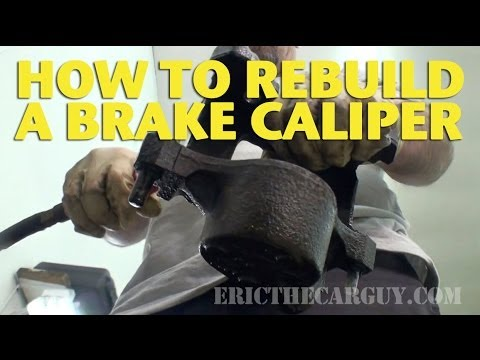 How To Rebuild A Front Brake Caliper -EricTheCarGuy Mp3