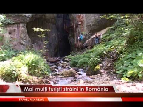 Mai multi turisti straini in Romania