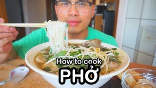 How to cook PHỞ
