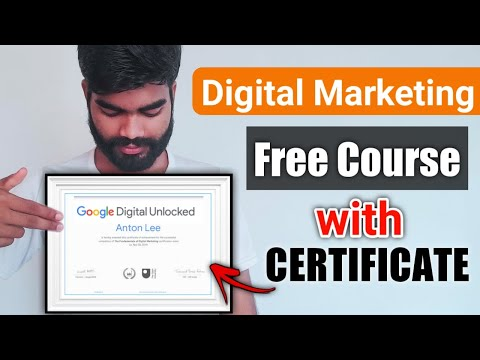 Google Digital Marketing Free Course With Certification (HINDI)