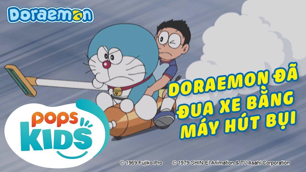 Doraemon SS7, Tập 362 - Mình Là Honekawa Doraemon, Doraemon Đã Đua Xe Bằng Máy Hút Bụi