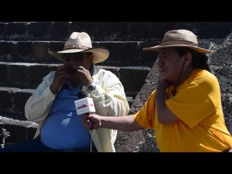 Los sonidos del pasado Mexica presente en Teotihuacan