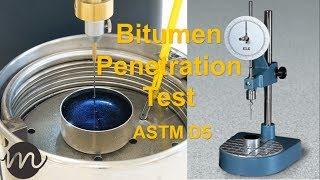 Bitumen Penetration Test ASTM D5 [Urdu/Hindi]
