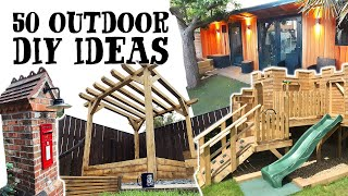 DIY PROJECTS FOR YOUR GARDEN - Patios, Decking, Garden Offices And More!