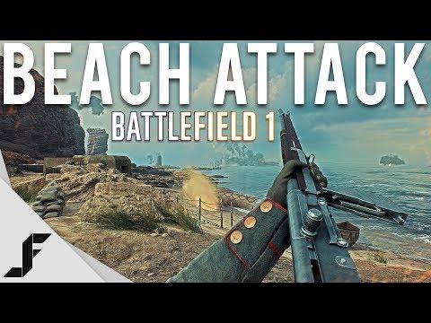 BEACH ATTACK - Battlefield 1