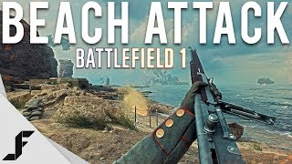 BEACH ATTACK - Battlefield 1 | Kholo.pk