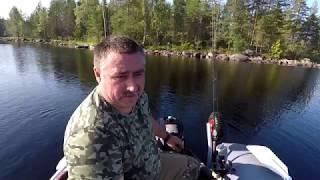 Летняя рыбалка в карелии на турбазе