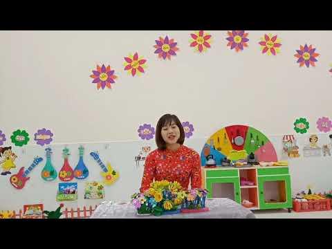 Phát triển ngôn ngữ cho trẻ 3-4 tuổi: Thơ Bé tập làm nội trợ
