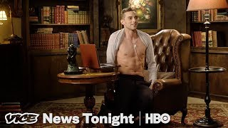 Hilarious Adam Rippon for Vice News