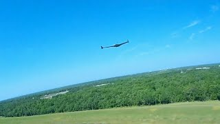FPV Fixed Wing VS 4K FPV Drone Chase Footage On A Windy Day