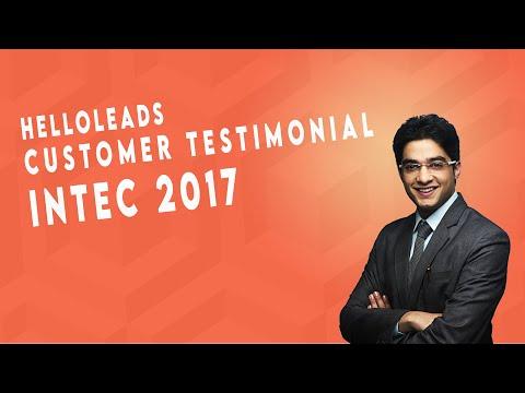 HelloLeads Regi - A complete Digital Registration solution @ INTEC 2017