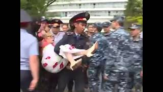 Протесты в Казахстане 10-ого мая. от А до Я за минуту