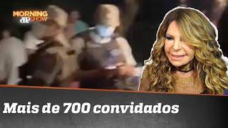 Elba Ramalho diz que estava orando durante festão na casa dela