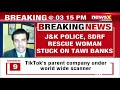 Jammus Tawi in spate | Police & SDRFs brave rescue operation | NewsX - Video