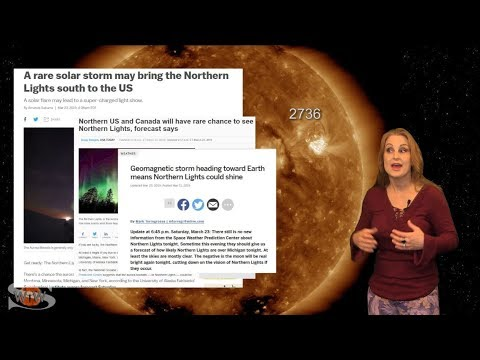 Solar Storm Forecast – March 28, 2019 at 07:58PM