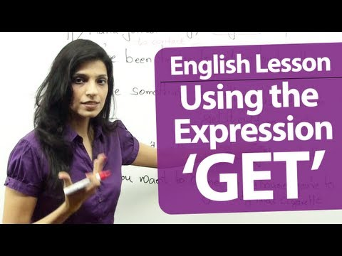 English Grammar Lessons - English lesson : Common expressions using the verb