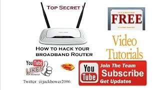 Hack Your Broadband Internet Router for SPEED with secret settings fix.