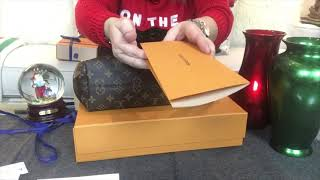 Louis Vuitton Graceful PM In Monogram Print - Pivoine | Unboxing Christmas Present!! 🎄💝🎁