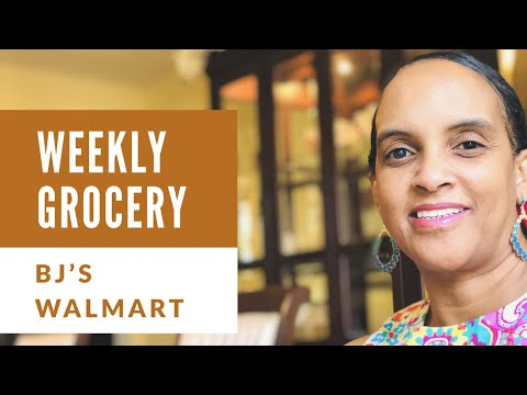 Grocery Haul BJs and WALMART ~ by The Frugalnista