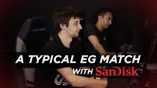 A Typical EG Match with SanDisk
