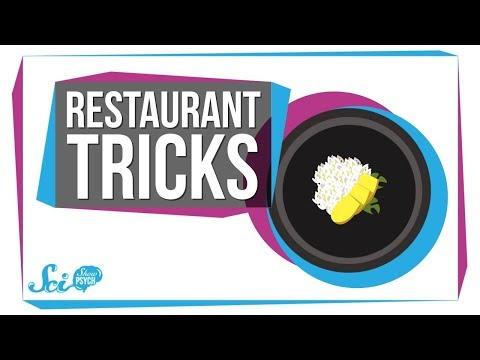 Psychologická manipulace v restauraci