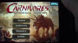 Carnivores: Dinosaur Hunter App Review