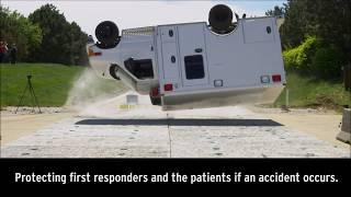 Wheeled Coach - Ambulance Rollover Crash Test