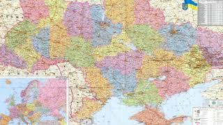 Подробная карта Черниговской области Черниговская область