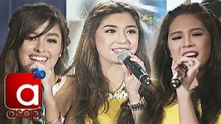 "Donnalyn, Janella, Liza sing ""KakaiBabe"" on ASAP"