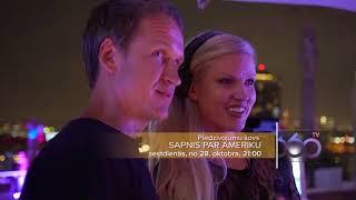 """""""Sapnis par Ameriku"""" no 28.oktobra 360TV!"""