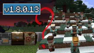 ВЫШЕЛ Minecraft Pe 1.8.0.13 - ХЕЛЛОУИНСКОЕ ОБНОВЛЕНИЕ - ПОЛНЫЙ ОБЗОР + СКАЧАТЬ