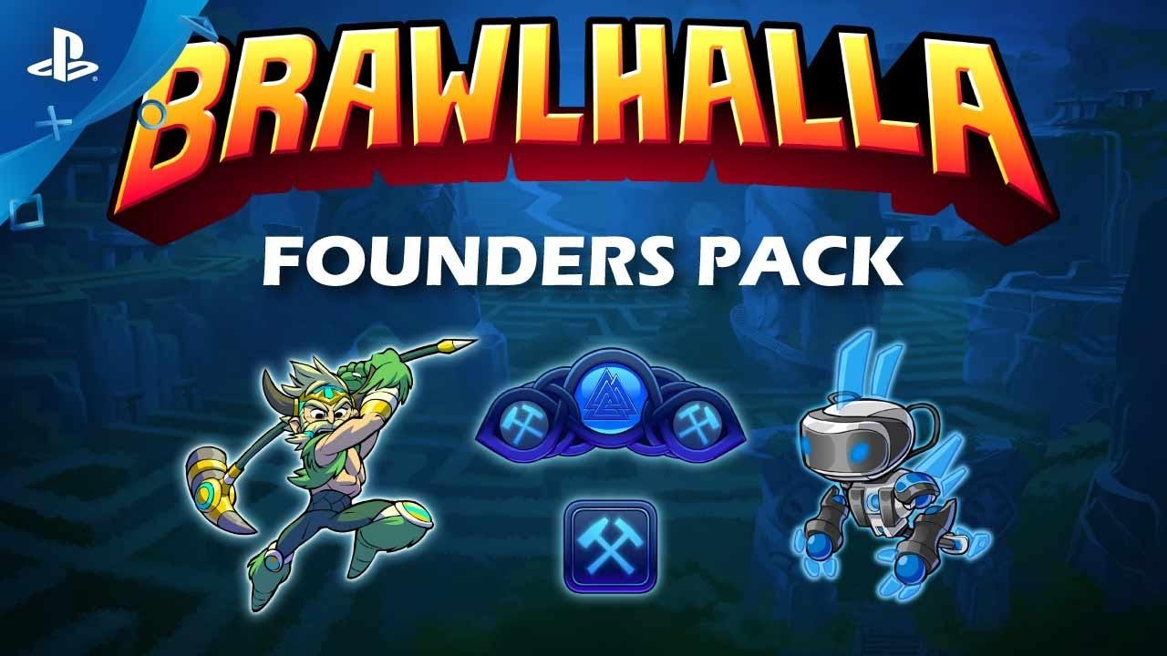 Brawlhalla Founders Pack se Lanza el 1ro. de Agosto, Incluye Todos Los Luchadores Futuros