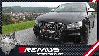 Video: Remus Anlage ab Kat für Audi RS5