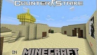 Let's Play Minecraft CS на карте de_dust2