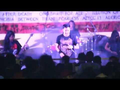 "NECRO TERROR  - PESTA PARA PENDOSA Live at HELLPARTY ""QUEEN OF PASSION"""