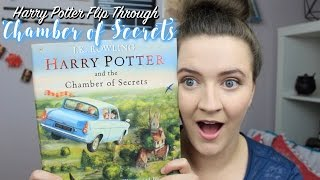 Harry Potter And The Chamber Of Secrets Illustrated Edition L Flip Through