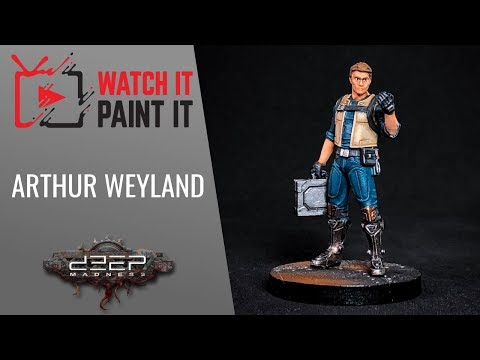Deep Madness - Painting Arthur Weyland (Engineer)