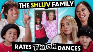JustMaiko & The Shluv Family Rate & Recreate Popular TikTok Dances | React