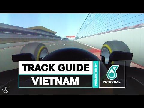 Image: A full lap of the Hanoi Circuit in Vietnam