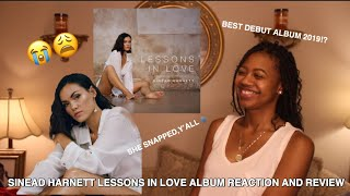 SINEAD HARNETT LESSONS IN LOVE ALBUM REACTION AND REVIEW