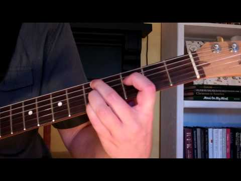 How To Play the Dm9 Chord On Guitar (D minor ninth) 9th
