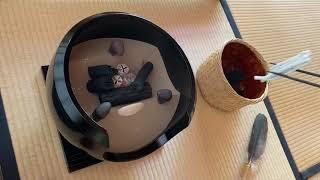 《茶道点前集》 風炉・初炭手前  Sadou [Japanese Tea Ceremony]