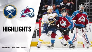 NHL Highlights | Sabres @ Avalanche 2/26/20